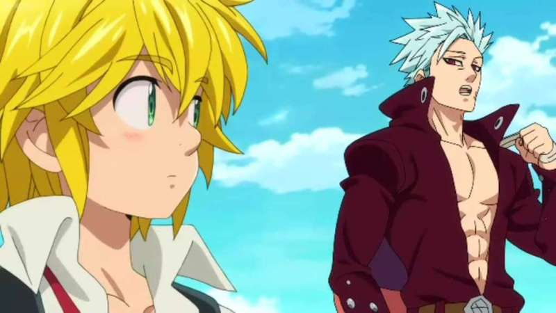 Meliodas and Ban From The Seven Deadly Sins