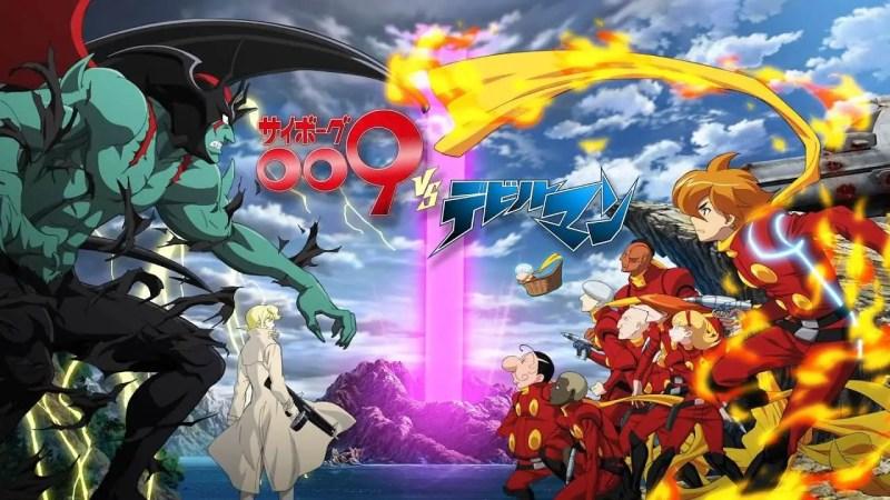 Cyborg 009 against. Devilman