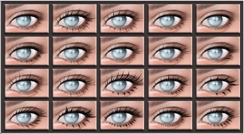 Eyelashes NB02 by MQSiMS