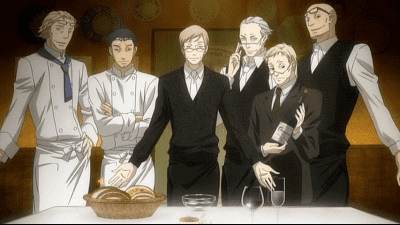 Teo and Furio's Cooking (Ristorante Paradiso)