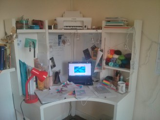 I've spent a lot of time at my desk this week working on projects, studying and dreaming up some big ideas.