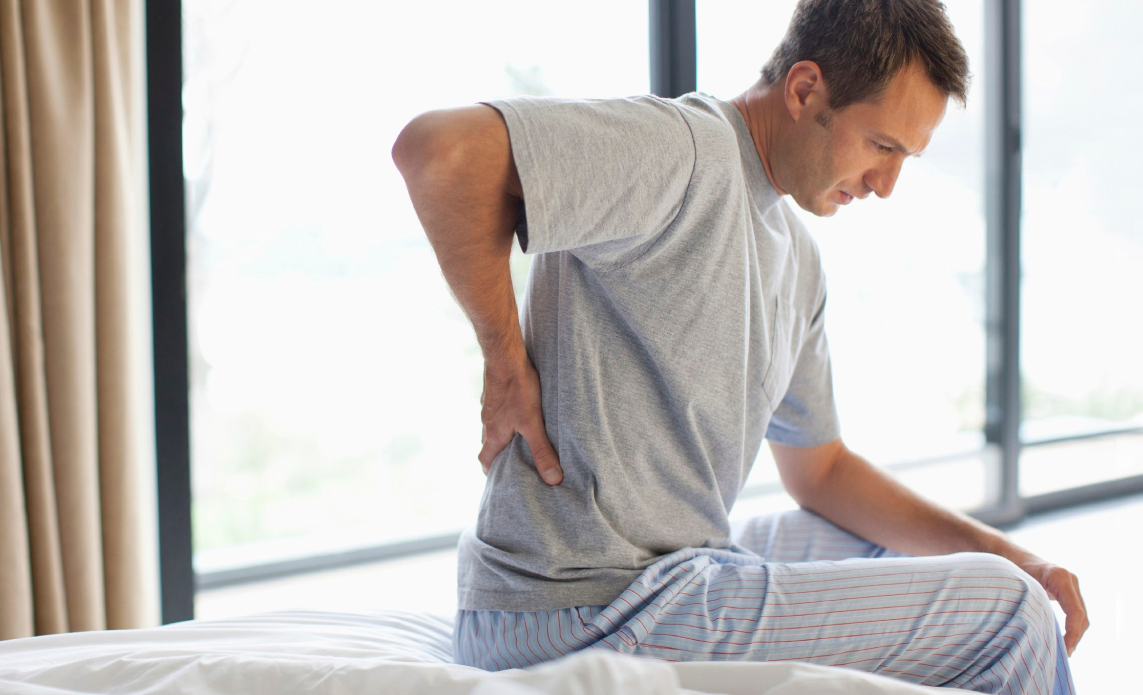 back pain from stress
