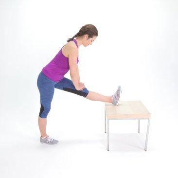 Hamstring-Stretch, post running tip
