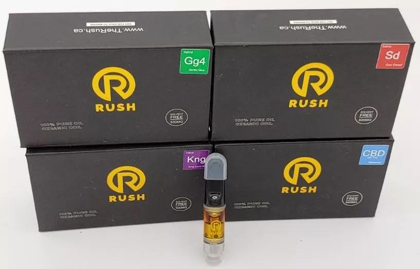 Rush Cartridges 500mg
