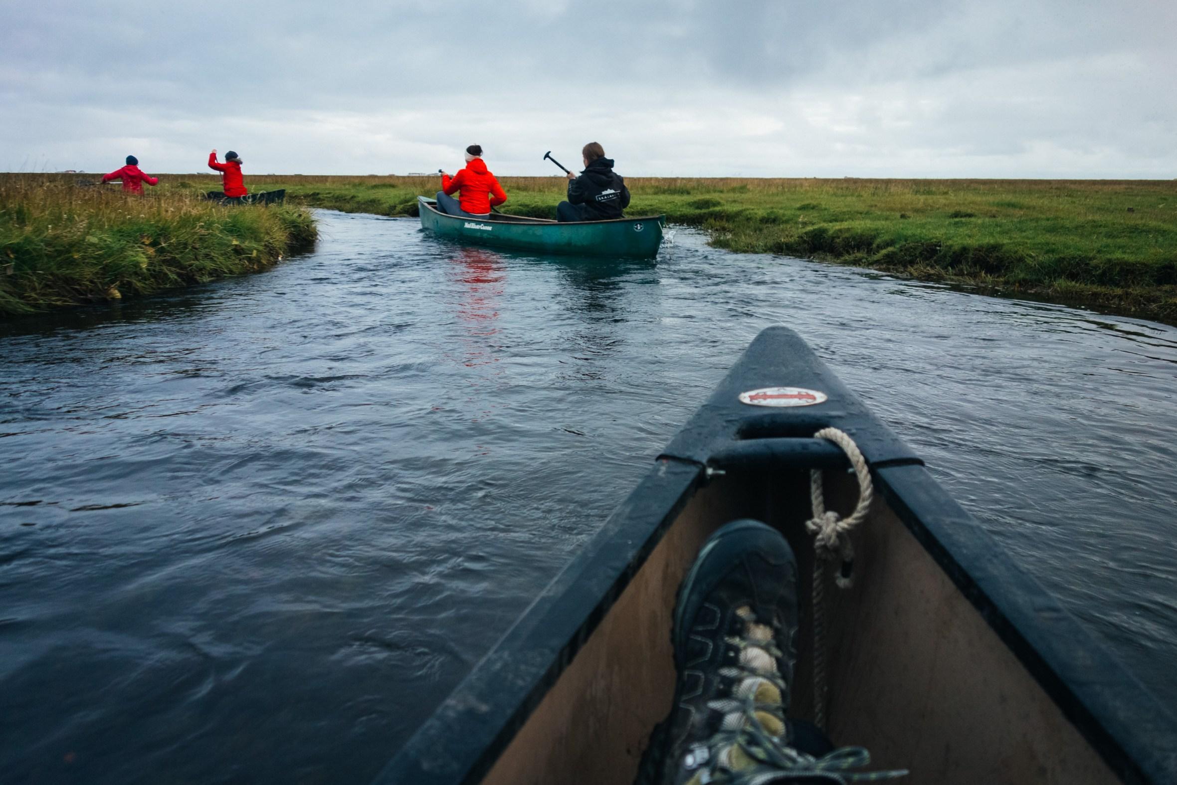 canoeing/kayaking in iceland