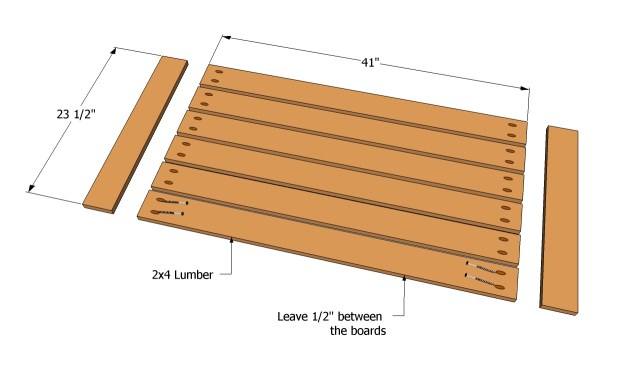Patio Table Plans | Free Outdoor Plans - DIY Shed, Wooden Playhouse ...