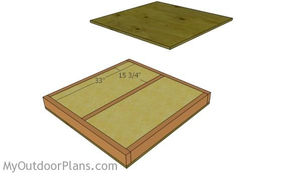 Insulated Dog House Plans   MyOutdoorPlans   Free Woodworking Plans     Floor insulation