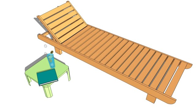 Wooden Lawn Chair Plans