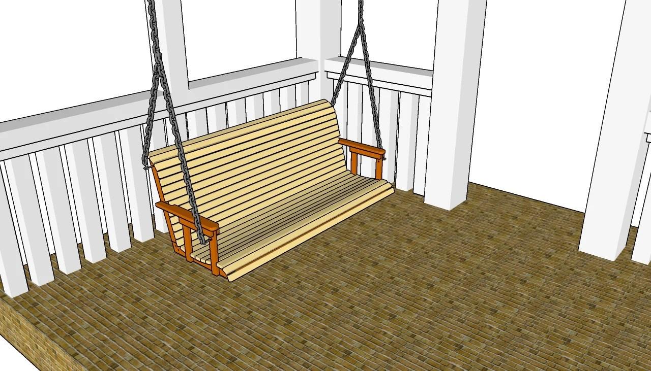 plans bench swing