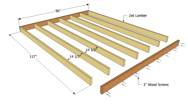Free Shed Floor Plans