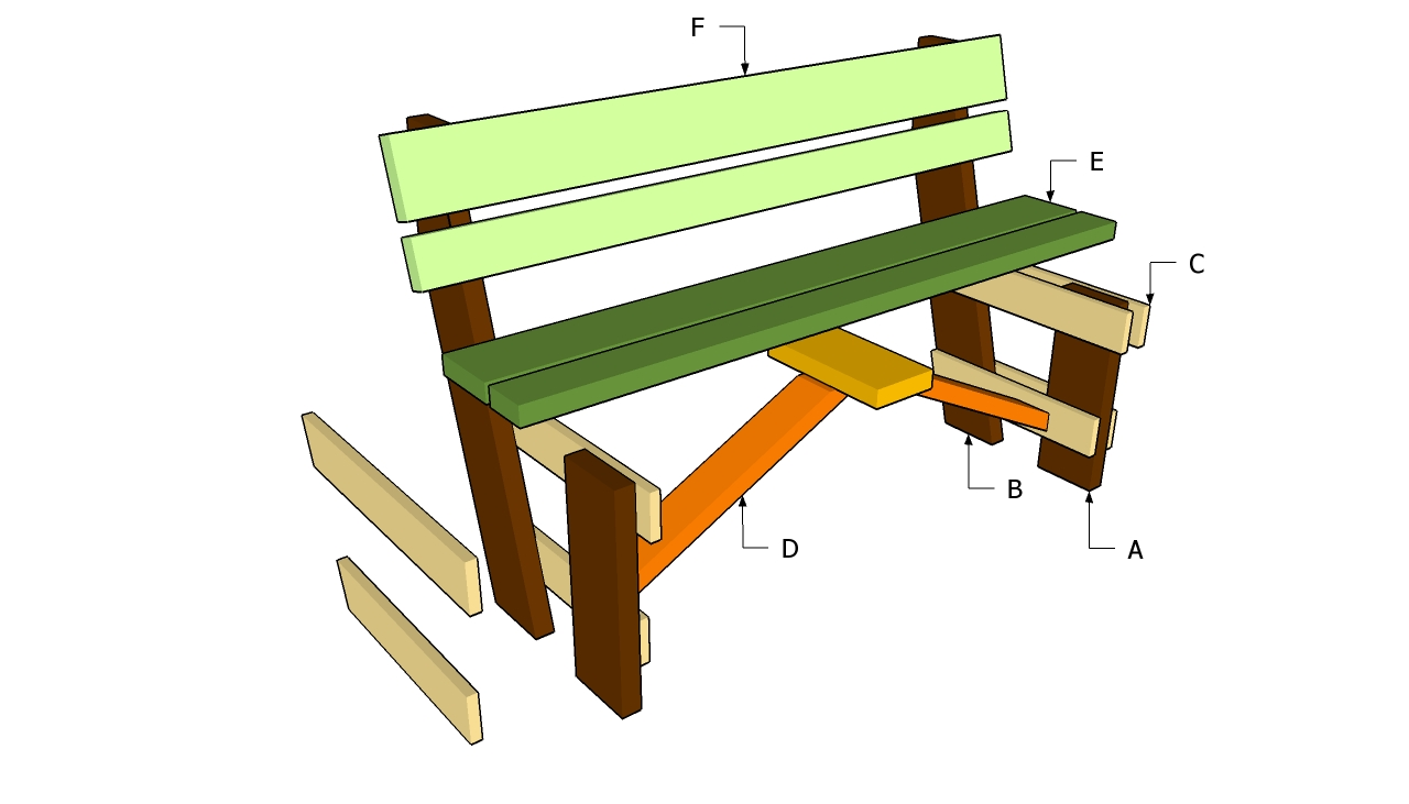 Garden Bench Plans Pdf: Eoropeza1