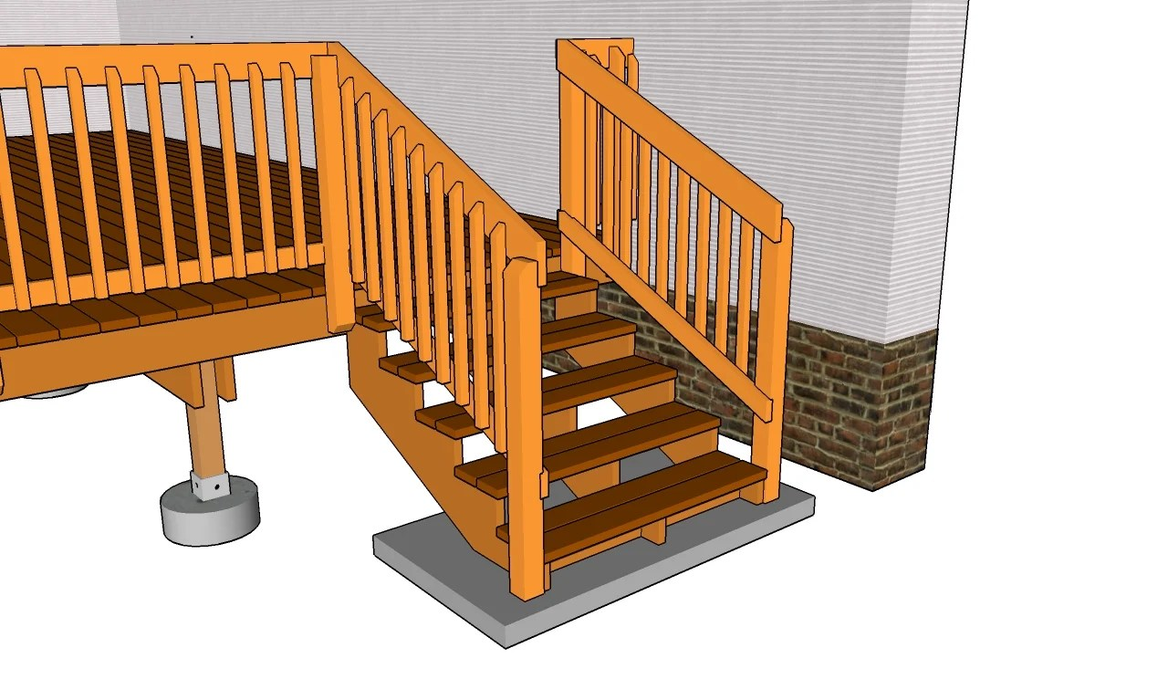 Porch railing woodworking plans. stair bench gazebo. pdf plans ...