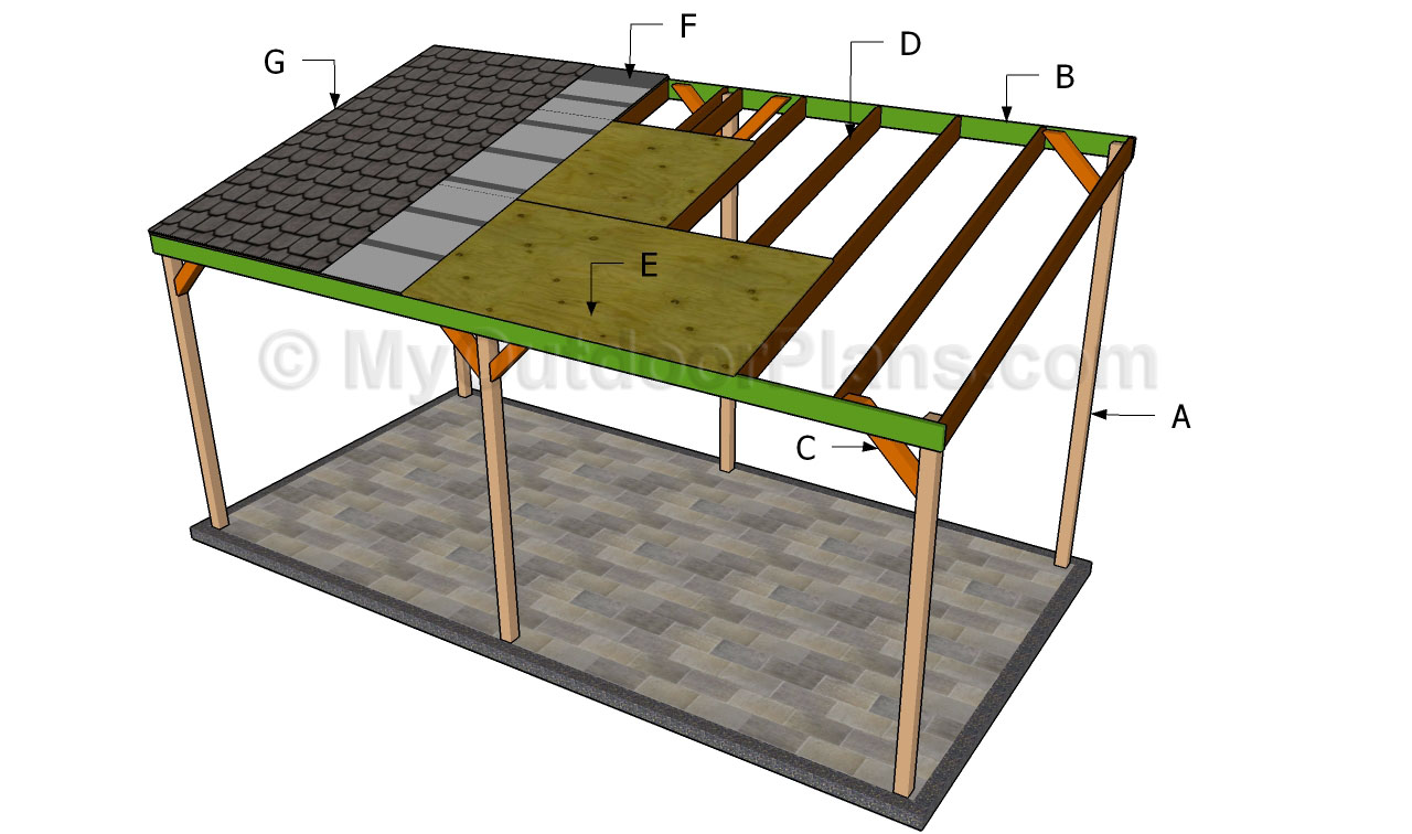 build diy wood carport design plans plans wooden On carport designs and plans