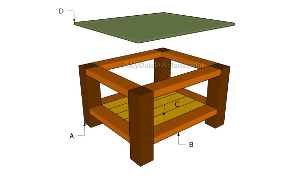 Outdoor End Table Plans