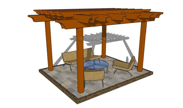 Attached Pergola Plans Free Pergola Plans Grape Arbor Plans Free