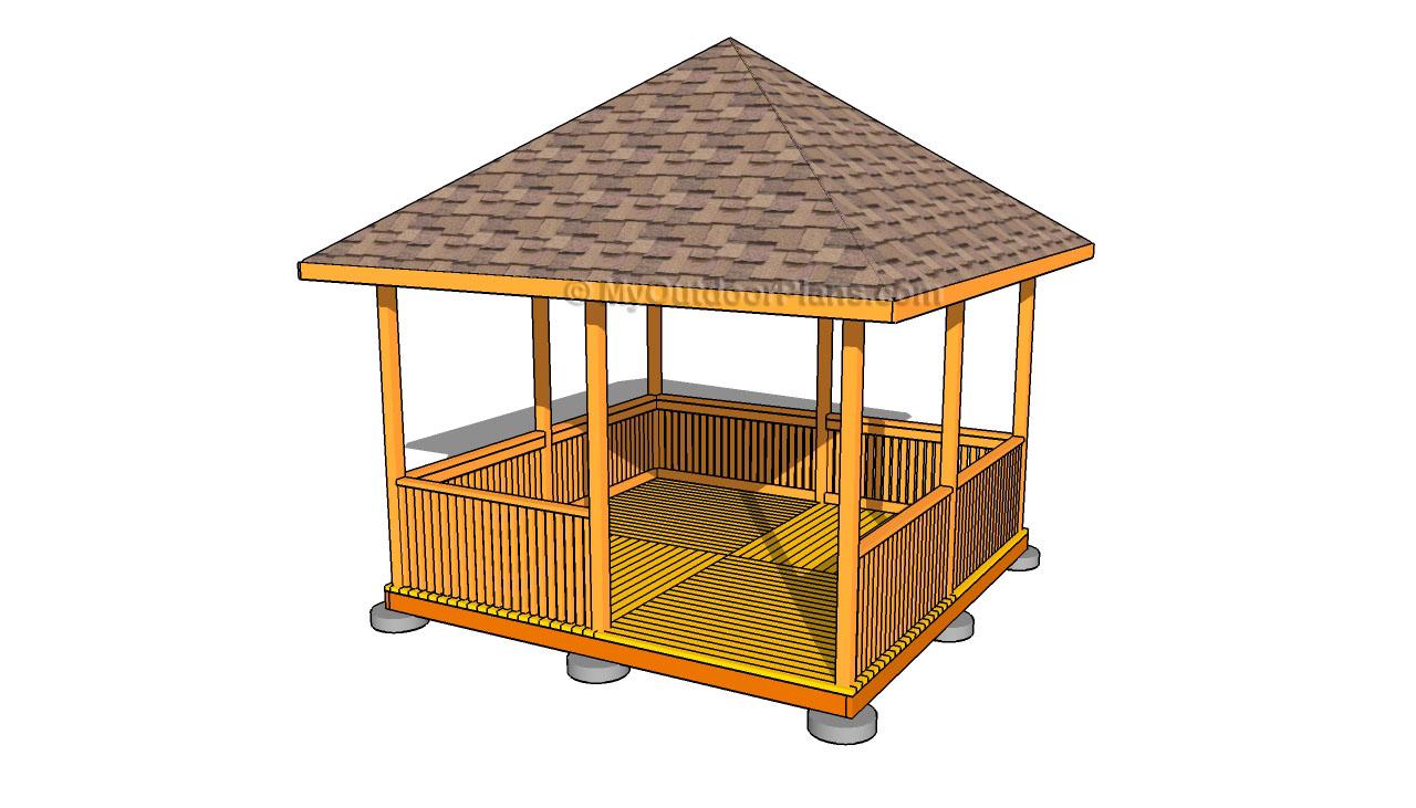 Gazebo Designs Free Outdoor Plans Diy Shed Wooden