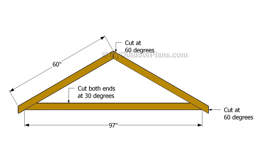 Diy Shed Roof Plans Free Outdoor Plans DIY Shed