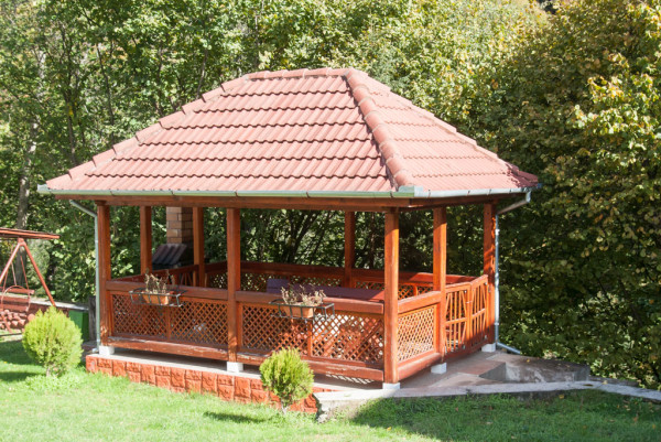 Rectangular Gazebo Myoutdoorplans Free Woodworking