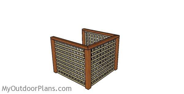Air Conditioner Screen Plans Myoutdoorplans Free