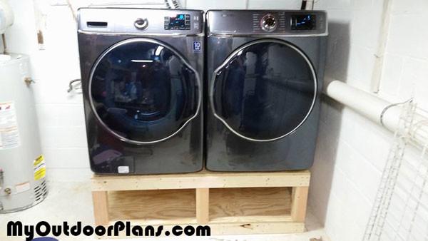 Diy Washer Drier Pedestal Myoutdoorplans Free