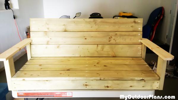 Diy 2x4 Swing Myoutdoorplans Free Woodworking Plans