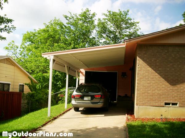 Diy Carport Attached To House Myoutdoorplans Free