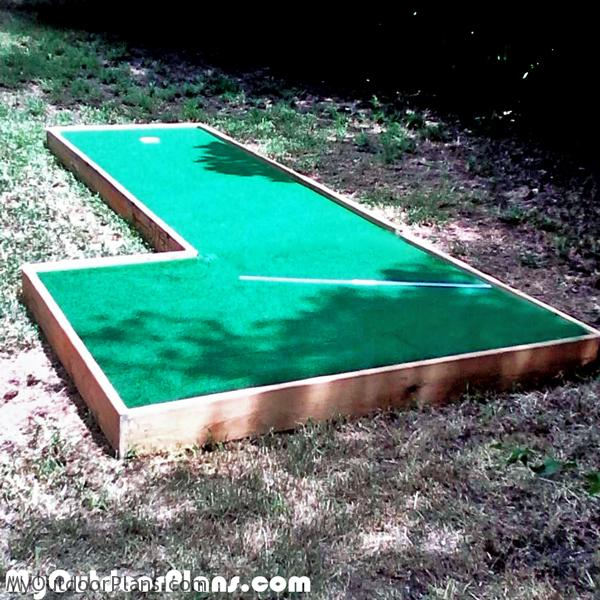 DIY Mini Golf MyOutdoorPlans Free Woodworking Plans