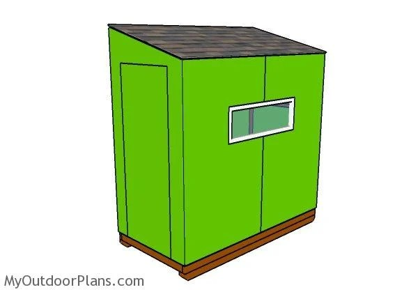 4x8 Ice Shack Plans Myoutdoorplans Free Woodworking