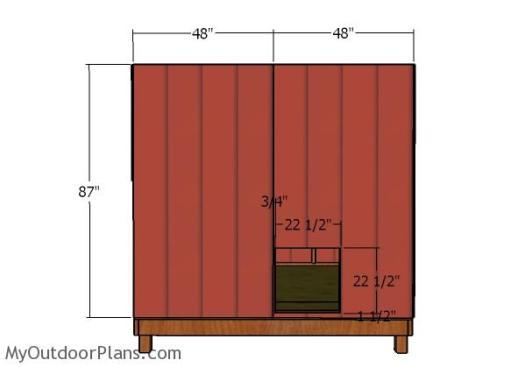 Side siding - Panels