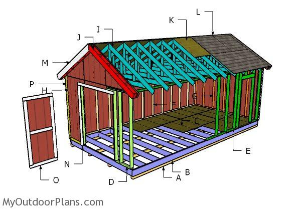 Build Small Storage Shed
