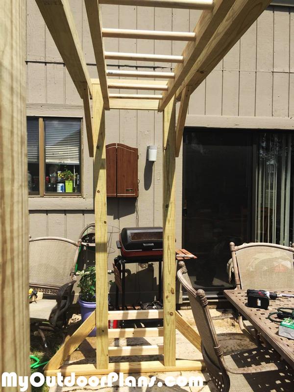 Diy Monkey Bars Myoutdoorplans Free Woodworking Plans
