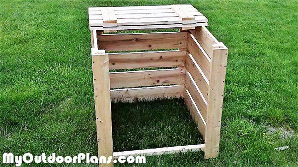 Diy Compost Bin Myoutdoorplans Free Woodworking Plans