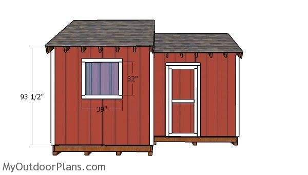 12x8 8x8 Shed Doors Plans Myoutdoorplans Free