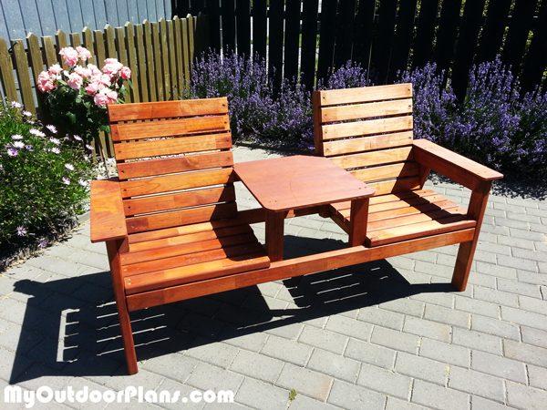 Diy Jack Amp Jill Bench Myoutdoorplans Free Woodworking