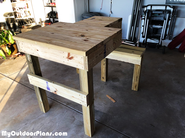 Diy Shooting Bench Myoutdoorplans Free Woodworking