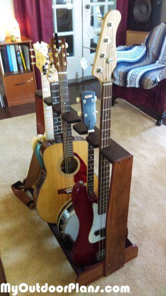 Diy Multi Rack For Guitars Myoutdoorplans Free