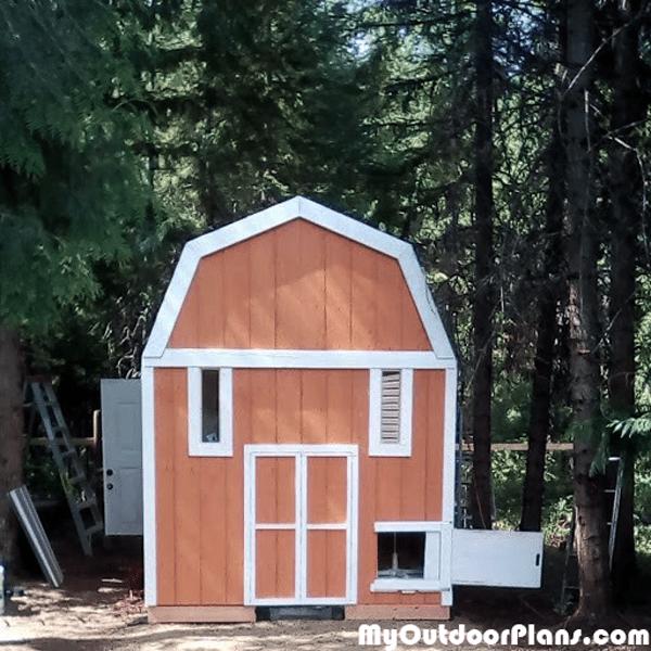 Diy 8x12 Chicken Coop Myoutdoorplans Free Woodworking