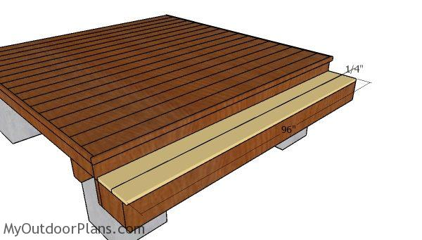 8x8 Deck Plans Myoutdoorplans Free Woodworking Plans