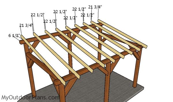 10x16 Lean To Carport Roof Plans Myoutdoorplans Free