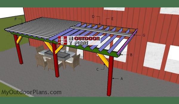 patio cover plans myoutdoorplans