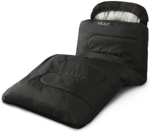ASOUT Wide Sleeping Bag for Adults - cold weather car camping sleeping bags
