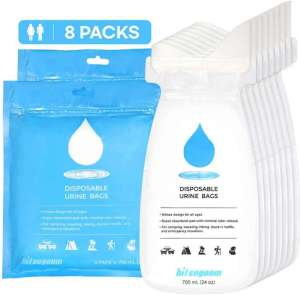 BITSOGOOM Disposable Urine Bags - best disposable urine bags for travel emergency
