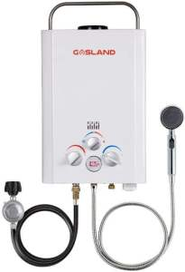 GASLAND Outdoors BE158 1.58GPM 6L Outdoor Portable Gas Water Heater - portable gas hot water heater for camping