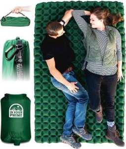 In Your Prime Double Sleeping Pad for Camping - best double sleeping pad for camping