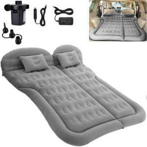 SAYGOGO SUV Air Mattress Camping Bed Cushion Pillow - best air mattress camping bed