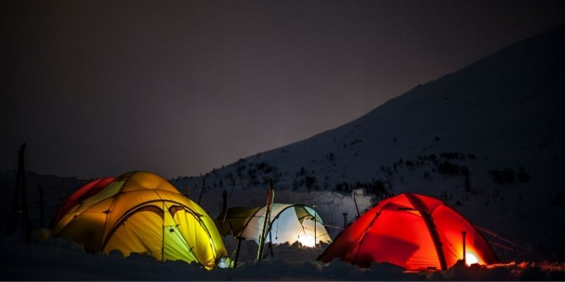 Discussing 8 Tips on How to Stay Warm in a Tent Comfortably - best tent to keep warm and toasty