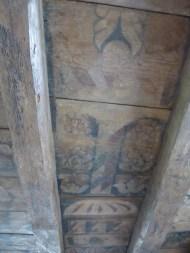 Painted Ceiling at Aberdour Castle