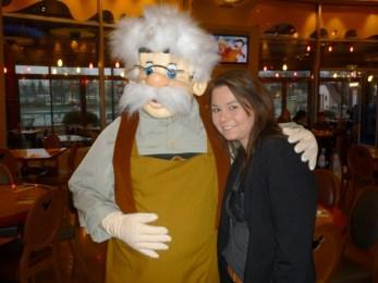 Gepetto, Mickey's Café, December 2012