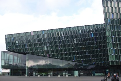 Opera-building in Reykjavik