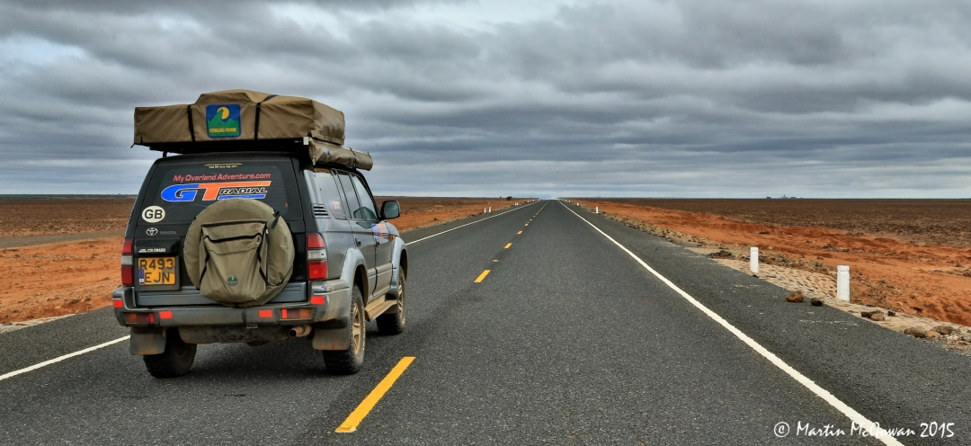 The new road from Marsabit to Moyale